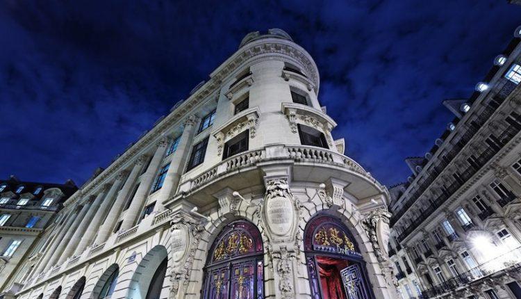 Façade du Banke Hôtel Paris