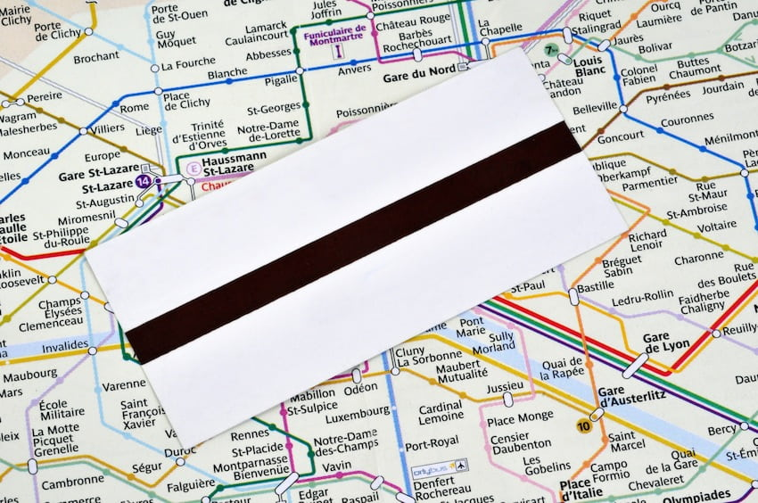 Les Tarifs Des Transports En Commun A Paris Ratp Sncf